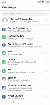 Huawei P20 - Netzwerk - Manuelle Netzwerkwahl - Schritt 3