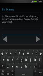 HTC One - Apps - Konto anlegen und einrichten - 6 / 25