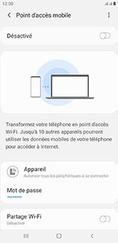 Samsung Galaxy J6 Plus - Internet - comment configurer un point d'accès mobile - Étape 7