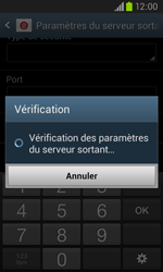 Samsung I8260 Galaxy Core - E-mail - Configuration manuelle - Étape 16