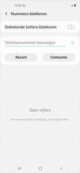 Samsung galaxy-xcover-pro-sm-g715fn - Beveiliging en ouderlijk toezicht - Nummer blokkeren - Stap 7