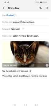 Huawei Y5 (2019) - E-mail - e-mail versturen - Stap 15