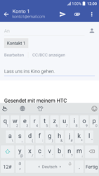 HTC One A9s - E-Mail - E-Mail versenden - 2 / 2