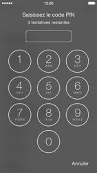 Apple iPhone 5 (iOS 8) - Premiers pas - Créer un compte - Étape 4