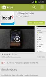 Samsung Galaxy Express - Apps - Installieren von Apps - Schritt 7