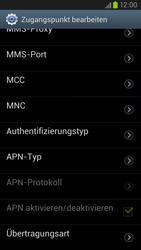 Samsung Galaxy S III LTE - Internet und Datenroaming - Manuelle Konfiguration - Schritt 13