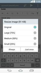 LG G3 (D855) - E-mail - Sending emails - Step 17