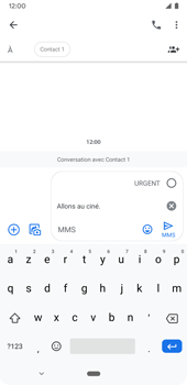 Google Pixel 3a - Contact, Appels, SMS/MMS - Envoyer un MMS - Étape 9