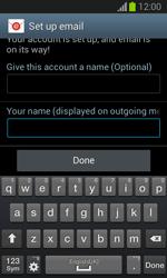 Samsung Galaxy Trend Lite - E-mail - manual configuration - Step 19