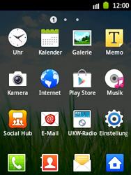 Samsung Galaxy Pocket - Apps - Einrichten des App Stores - Schritt 3