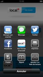 Apple iPhone 5 - Internet et roaming de données - Navigation sur Internet - Étape 10