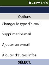 Alcatel 3088X - Contact, Appels, SMS/MMS - Ajouter un contact - Étape 16