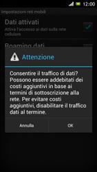 Sony Xperia J - Internet e roaming dati - Configurazione manuale - Fase 7