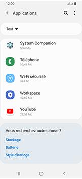 Samsung Galaxy A40 - Applications - Supprimer une application - Étape 8