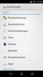 Sony Xperia E3 - Anrufe - Rufumleitungen setzen und löschen - 4 / 9