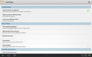 Samsung P7500 Galaxy Tab 10-1 - SMS - Handmatig instellen - Stap 5