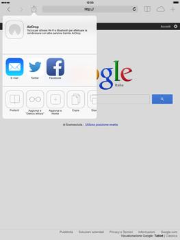 Apple iPad mini 2 - Internet e roaming dati - Uso di Internet - Fase 6