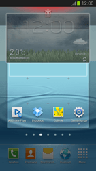 Samsung Galaxy S III - Startanleitung - Installieren von Widgets und Apps auf der Startseite - Schritt 8