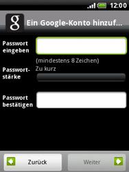 HTC Wildfire - Apps - Konto anlegen und einrichten - 0 / 0