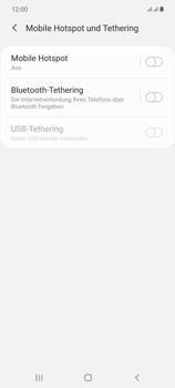 Samsung Galaxy Note 20 5G - WiFi - So aktivieren Sie einen WLAN-Hotspot - Schritt 6