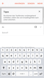 Samsung G925F Galaxy S6 edge - Android M - E-Mail - E-Mail versenden - Schritt 5
