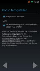 Alcatel One Touch Idol Mini - Apps - einrichten des App Stores - Schritt 17