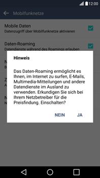 LG G4 - Ausland - Im Ausland surfen – Datenroaming - 9 / 12