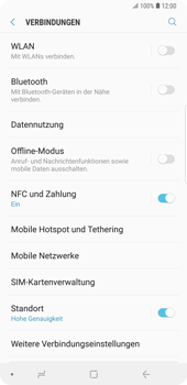 Samsung Galaxy Note9 - WiFi - WiFi-Konfiguration - Schritt 5