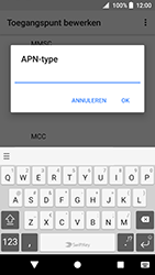 Sony Xperia XZ Premium - Android Oreo - MMS - handmatig instellen - Stap 14