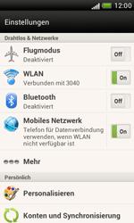 HTC Desire X - MMS - Manuelle Konfiguration - 4 / 16