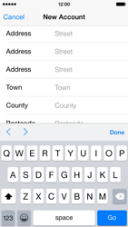 Apple iPhone 5s - iOS 8 - Applications - Create an account - Step 22