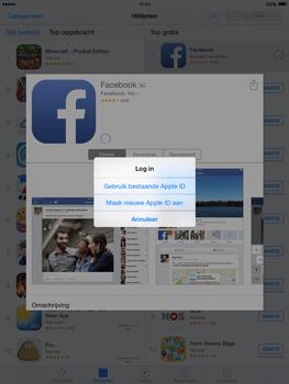 Apple iPad 2 iOS 8 - Applicaties - Account aanmaken - Stap 7