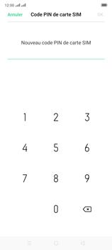Oppo Reno 2 - Sécuriser votre mobile - Personnaliser le code PIN de votre carte SIM - Étape 10
