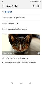 Huawei Mate 10 Pro - Android Pie - E-Mail - E-Mail versenden - Schritt 15