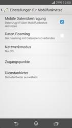 Sony D5103 Xperia T3 - Netzwerk - Netzwerkeinstellungen ändern - Schritt 6