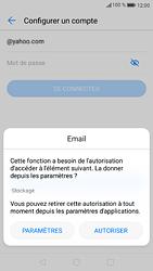 Huawei P9 - Android Nougat - E-mail - Configuration manuelle (yahoo) - Étape 6