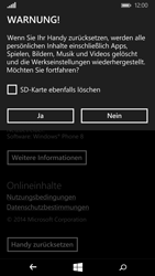 Microsoft Lumia 640 - Fehlerbehebung - Handy zurücksetzen - 9 / 11