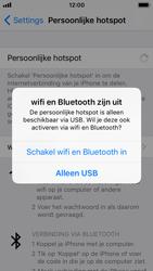 Apple iPhone SE met iOS 11 (Model A1723) - WiFi - Mobiele hotspot instellen - Stap 7