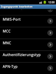 Samsung Galaxy Y - Internet - Manuelle Konfiguration - 9 / 17