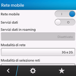 BlackBerry Q10 - Internet e roaming dati - Configurazione manuale - Fase 6
