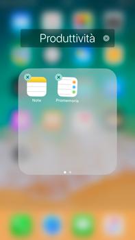 Apple iPhone 6s Plus iOS 11 - Operazioni iniziali - Personalizzazione della schermata iniziale - Fase 8