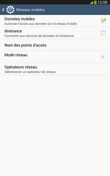 Samsung Galaxy Tab 3 8-0 LTE - Réseau - Sélection manuelle du réseau - Étape 6