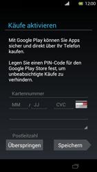 Sony Xperia T - Apps - Einrichten des App Stores - Schritt 14