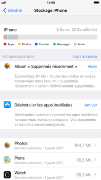 Apple iPhone 7 Plus - iOS 11 - Applications - Comment désinstaller une application - Étape 8