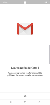 Samsung Galaxy Note 10 Plus 5G - E-mail - 032a. Email wizard - Gmail - Étape 5
