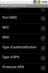 Alcatel OT-991 Smart - Internet - Configuration manuelle - Étape 13