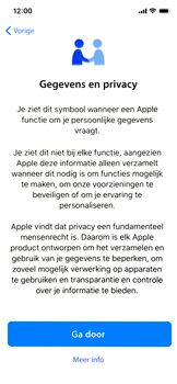 Apple iphone-x-met-ios-13-model-a1901 - Instellingen aanpassen - Nieuw toestel instellen - Stap 12