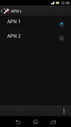 Sony C1905 Xperia M - Internet - handmatig instellen - Stap 20