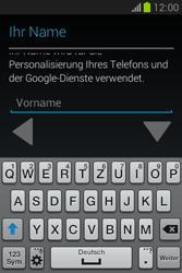Samsung Galaxy Fame Lite - Apps - Einrichten des App Stores - Schritt 5