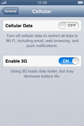 Apple iPhone 3GS - MMS - Manual configuration - Step 5
